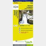 Carte Touristique - Vesoul/Langres - Recto