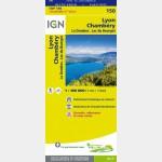 Carte Touristique - Lyon/Chambéry - Recto