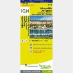 Carte Touristique - Marseille/Avignon - Recto