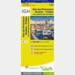 Carte Touristique - Aix-en-Provence/Toulon/Fréjus - Recto