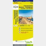 Carte Touristique - Carcassonne/Béziers/Perpignan - Recto
