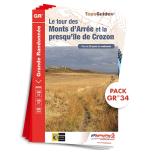 Pack : GR®34 de Topoguides FFR