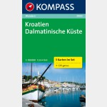 2900 - Croatie, côte dalmate (Kompass)