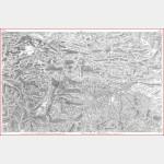 Cartes de Cassini n°20 et 20 bis - Mont-Louis / Puycerda - Impression Offset