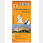 Carte Régionale Angleterre Nord 2013 (Michelin)