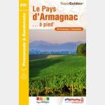 FFR - P322 - Le Pays d'Armagnac à pied