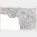 Cartes de Cassini n°40 et 40 bis - Tarascon / Andorre - Impression Offset