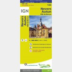 Nevers / Autun (Plastifiée R°/V°)
