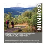 Cartes GARMIN TOPO France v5 PRO - 1/4 France au choix
