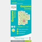 Carte Guyane Emerillon IGN - recto