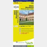 Carte Touristique - Dijon/Montbard - Recto