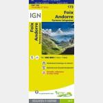 Carte Touristique - Andorre/Foix - Verso