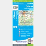 OLIVET.LA FERTE-SAINT-AUBIN.JARGEAU (Carte)
