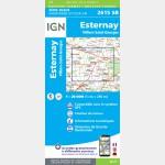 ESTERNAY.VILLIERS-SAINT-GEORGES (Carte)