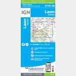 LAON - SISSONNE (Carte)