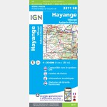 HAYANGE - VILLERUPT - AUDUN-LE-ROMAN (Carte)