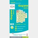 Apatou - Carte de Guyane - 01
