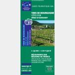 Carte des vins de Bourgogne - Recto