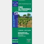 Carte des vins de Provence - Recto