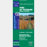 Carte des vins de Touraine - Recto