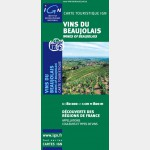 Carte des vins du Beaujolais - Recto