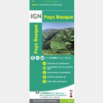 Carte IGN Top75 - Pays Basque - Recto