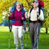 Michel et Catherine en randonnée pédestre