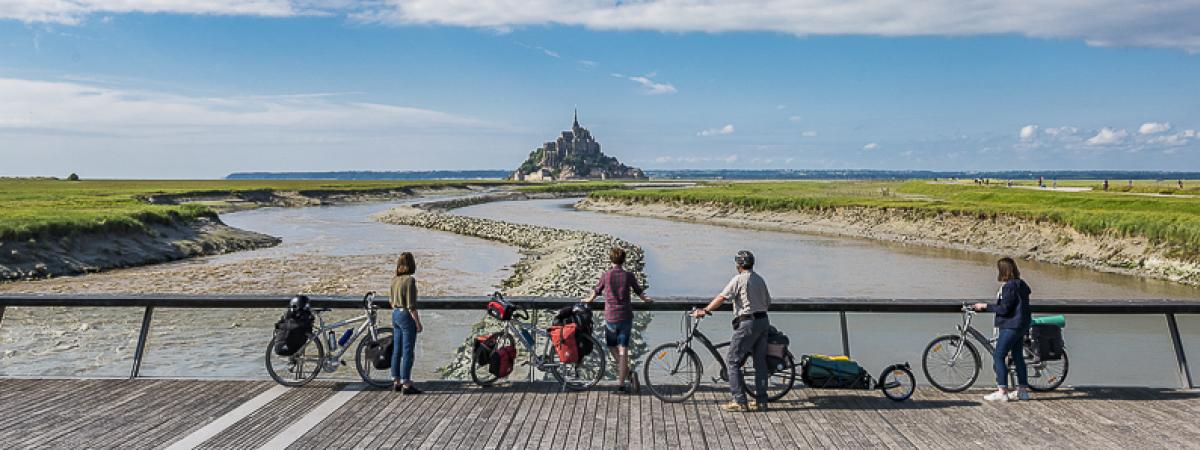 La Véloscénie : Paris / Le Mont Saint-Michel