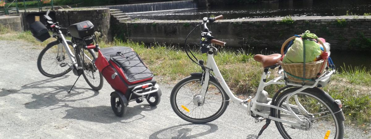 Rando-Vélo sur le canal de Nantes à Brest
