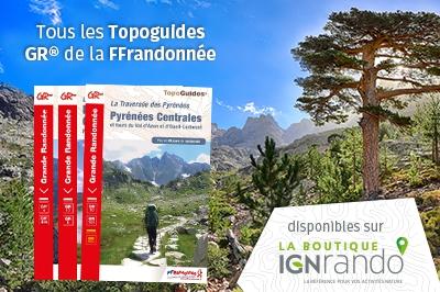Topoguides GR FFrandonnée