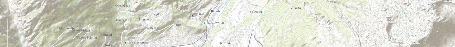 Carte topographique Monde / ESRI 6e niveau d'agrandissement
