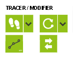 outil TRACER / MODIFIER