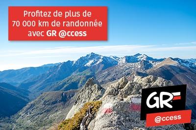 Préparez votre randonnée itinérante avec GR@ccess